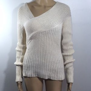 Gucci 100% Cashmere Cable Knit Sweater Small Italy